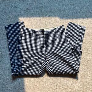 J. Crew gingham / checked pants
